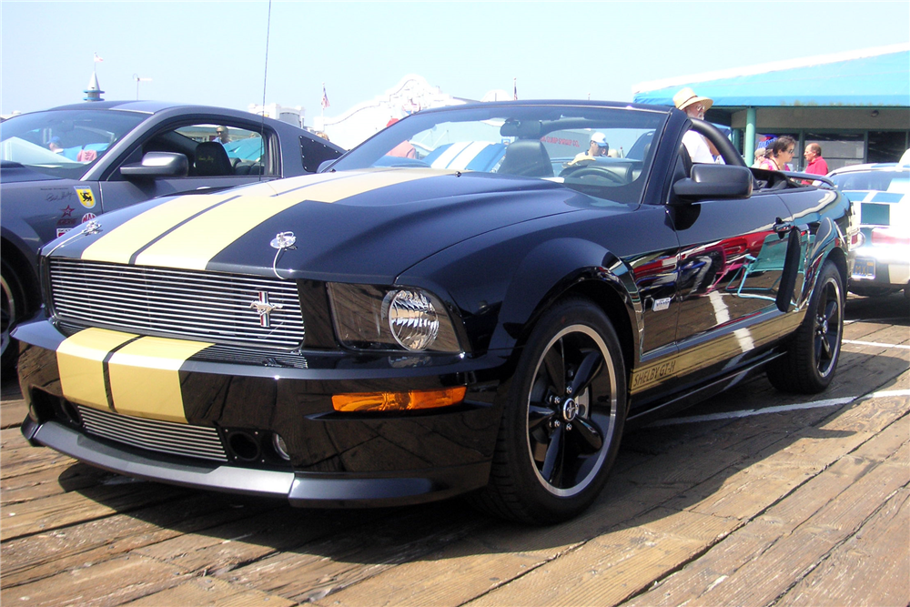 Rent Sports Cars Las Vegas >> 2007 SHELBY GT-H CONVERTIBLE - 192554