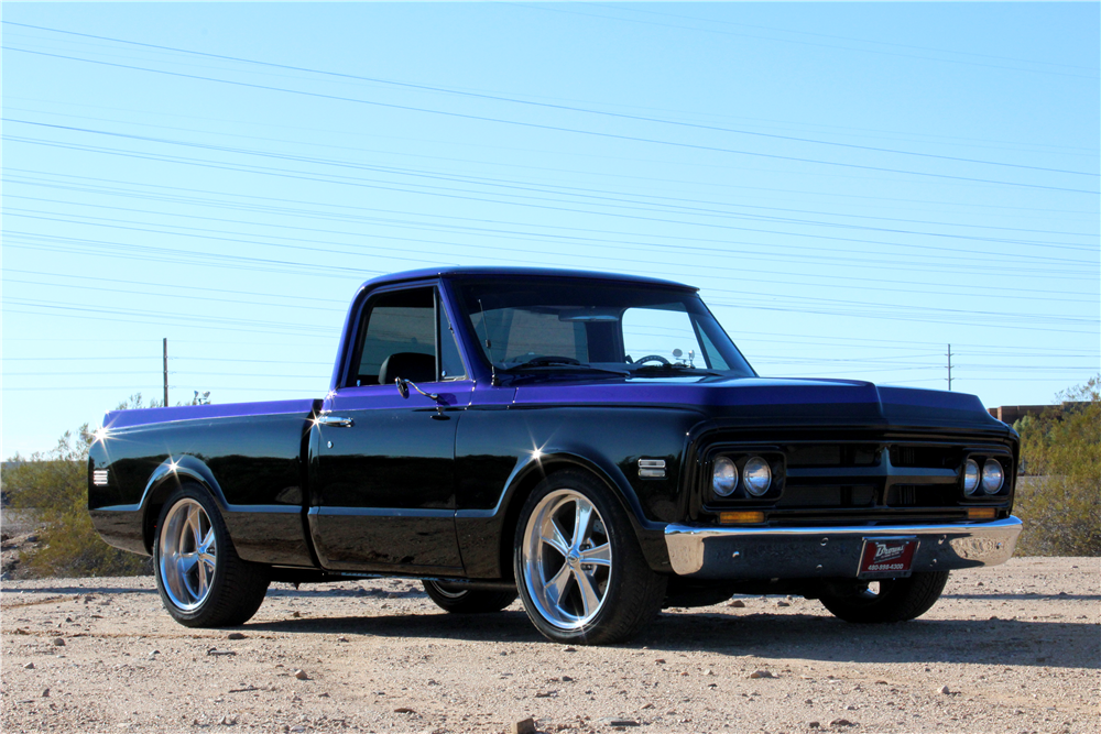 1970 GMC CUSTOM PICKUP - Front 3/4 - 192572