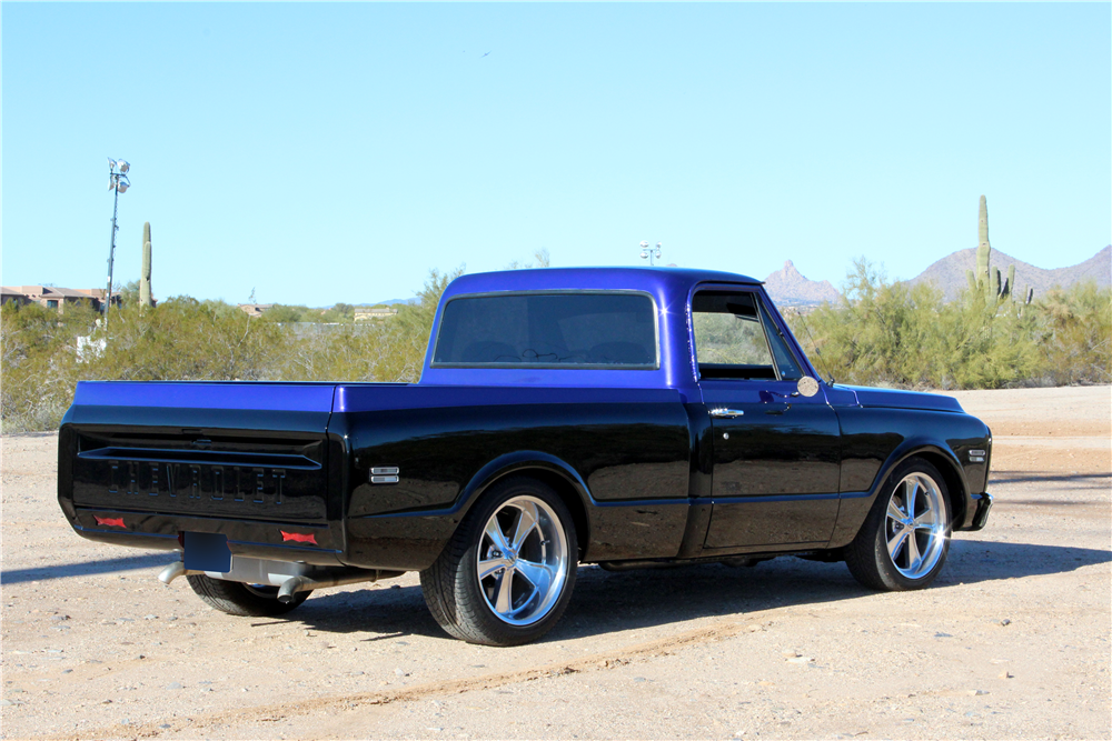 1970 GMC CUSTOM PICKUP - Rear 3/4 - 192572