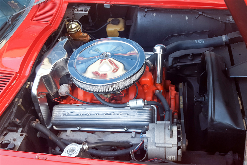 1963 CHEVROLET CORVETTE CONVERTIBLE - Engine - 192646