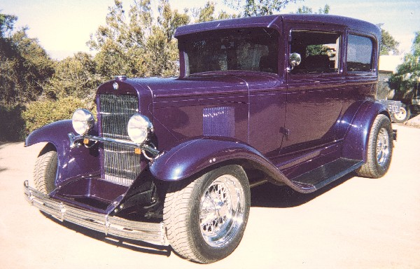 1929 CHEVROLET STREET ROD 2 DOOR COACH - Side Profile - 19270