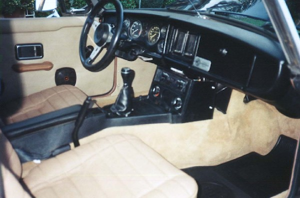 1979 MGB LIMITED EDITION - Interior - 19273