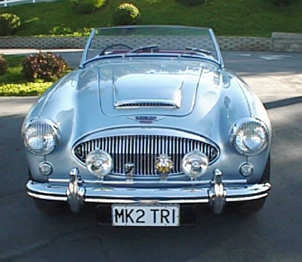1961 AUSTIN-HEALEY 3000 MARK II BT-7 ROADSTER - Engine - 19274