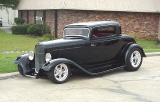 1932 FORD 3 WINDOW STREET ROD COUPE -  - 19294