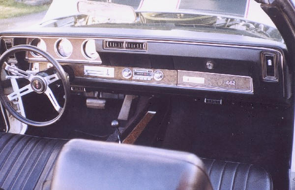 1970 OLDSMOBILE 442 INDY PACE CAR CONVERTIBLE - Interior - 19295