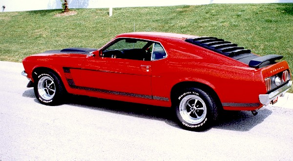 1969 Ford Mustang Boss 302 Clone Fastback 19297