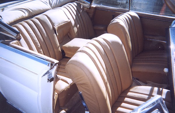 1964 MERCEDES-BENZ 220SE CONVERTIBLE - Interior - 19301
