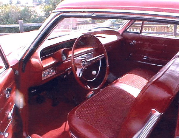 1963 CHEVROLET IMPALA 2 DOOR HARDTOP - Interior - 19313