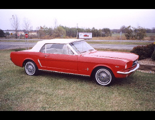 """1965 FORD MUSTANG """"D"""" CONVERTIBLE -  - 19322"""