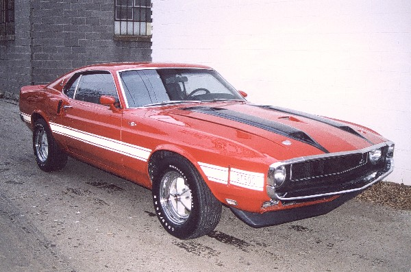 1970 SHELBY GT500 FASTBACK - Front 3/4 - 19332