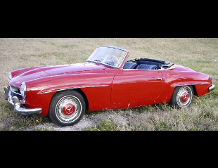 1957 MERCEDES-BENZ 190SL CONVERTIBLE -  - 19346