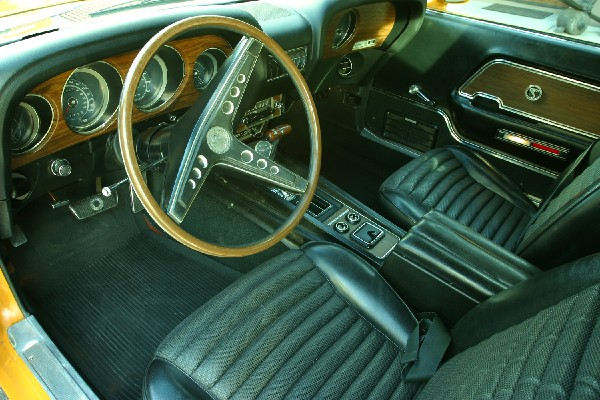 1969 SHELBY GT350 ALICE COOPERS FASTBACK - Interior - 19355