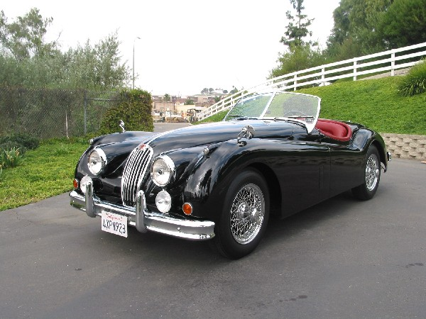 1956 JAGUAR XK 140 MC ROADSTER - Front 3/4 - 19358