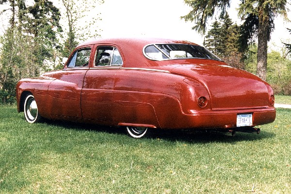 1949 LINCOLN HOT ROD SPORT SEDAN - Rear 3/4 - 19377