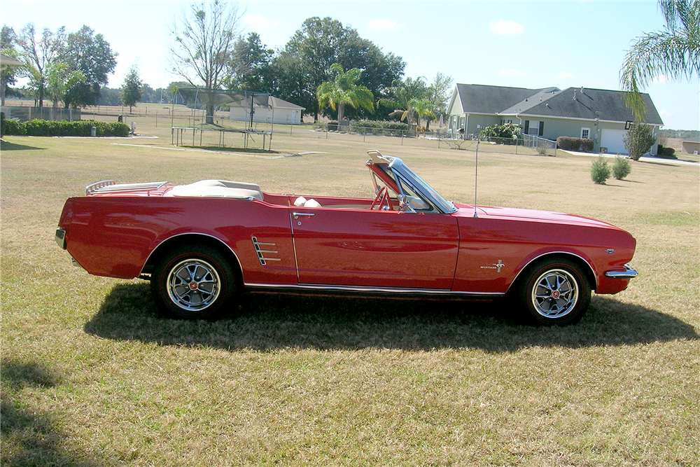 1966 Ford Mustang Convertible 193812