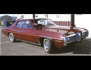 1969 PONTIAC CATALINA COUPE -  - 19383