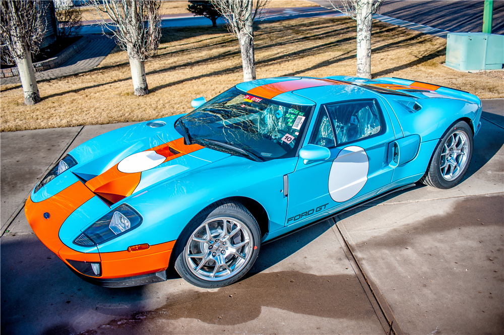 Ford Gt Heritage Edition With Less Than  Actual Miles Front