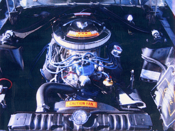 1967 FORD MUSTANG GT FASTBACK - Engine - 19391