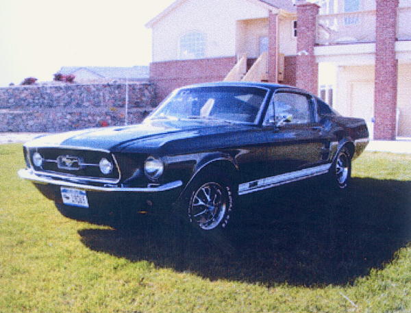 1967 FORD MUSTANG GT FASTBACK - Front 3/4 - 19391