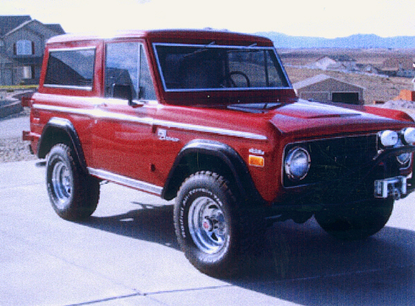 1971 FORD BRONCO 4X4 SPORT - Front 3/4 - 19393