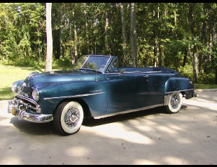 1952 PLYMOUTH CRANBROOK CONVERTIBLE -  - 19399