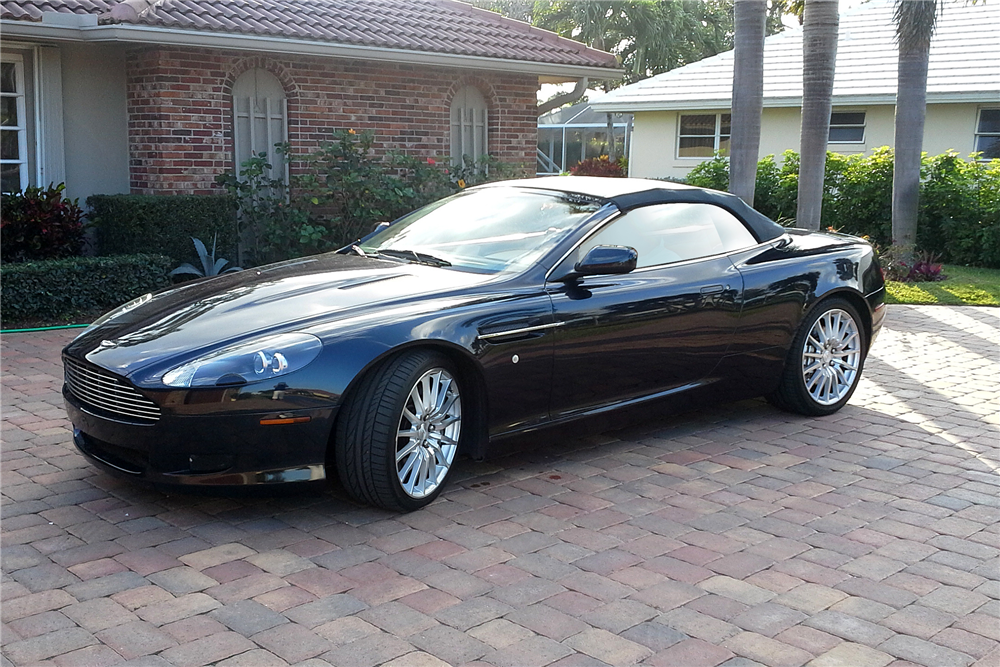 2006 aston martin db9 volante convertible front 3 4 193990. Cars Review. Best American Auto & Cars Review