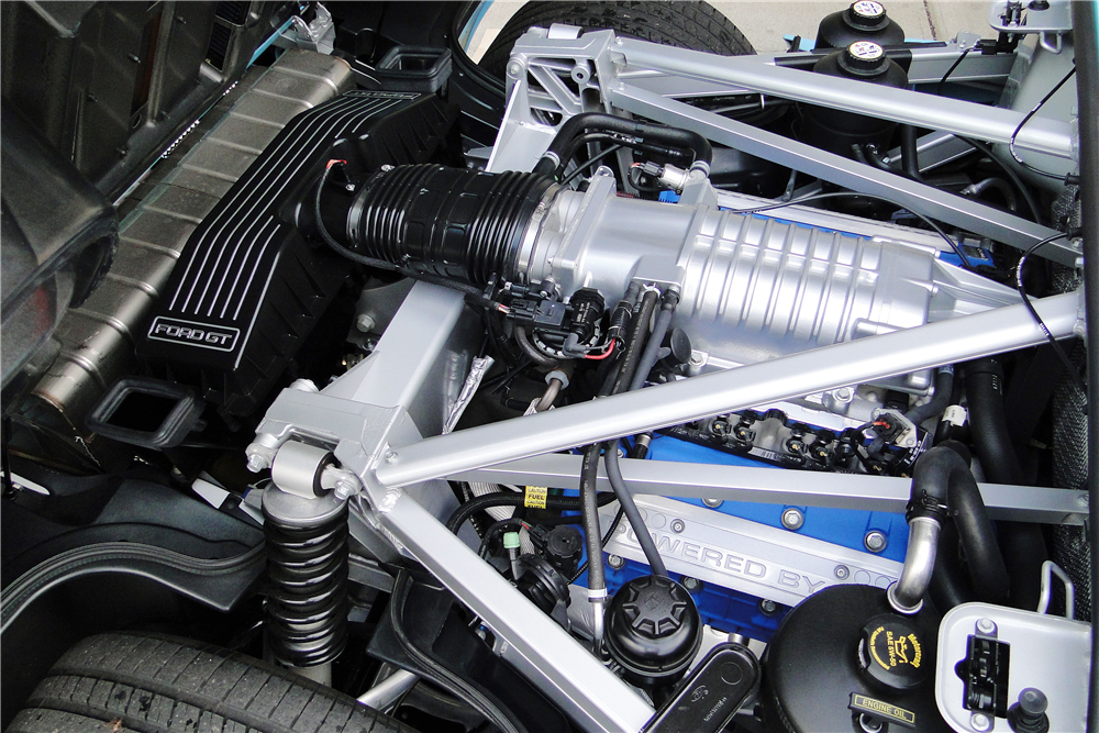 Ford Gt Heritage Edition Engine