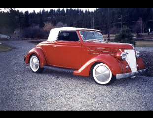 1936 FORD DELUXE CABRIOLET HOT ROD -  - 19400