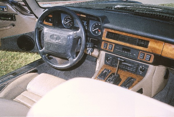 1990 JAGUAR XJS CONVERTIBLE - Interior - 19402