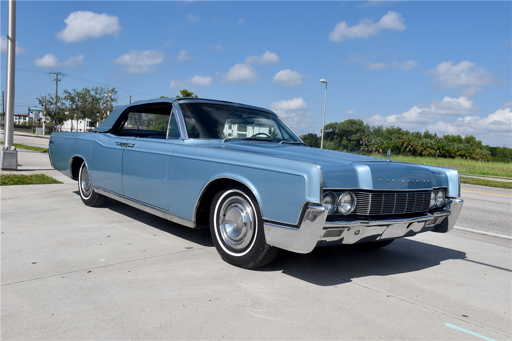 2017 Lincoln Continental Interior >> 1967 LINCOLN CONTINENTAL 4-DOOR CONVERTIBLE - 194090