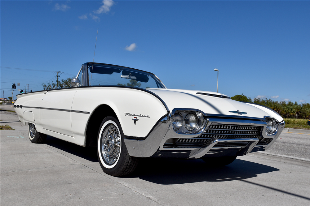 1962 ford thunderbird convertible 194091. Cars Review. Best American Auto & Cars Review