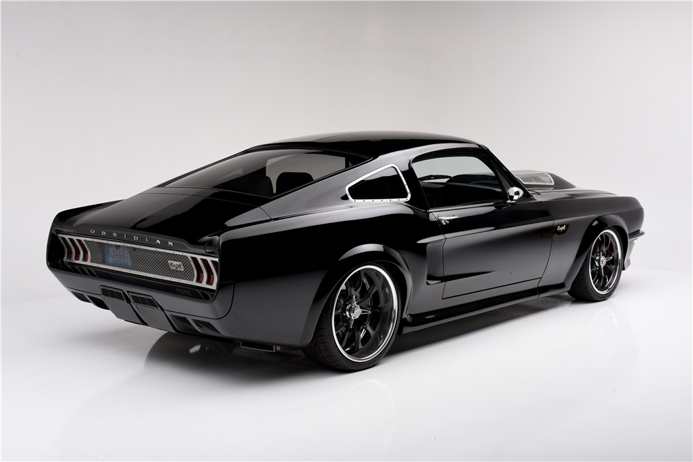 Dodge Challenger Antigo V8 >> 1967 FORD MUSTANG CUSTOM SUPERCHARGED FASTBACK 'OBSIDIAN' - 194132