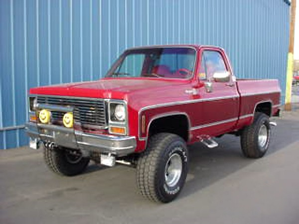 1980 Chevrolet Short Box 4x4 Pickup 19415