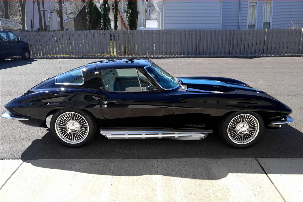 1967 chevrolet corvette custom coupe 194159. Black Bedroom Furniture Sets. Home Design Ideas