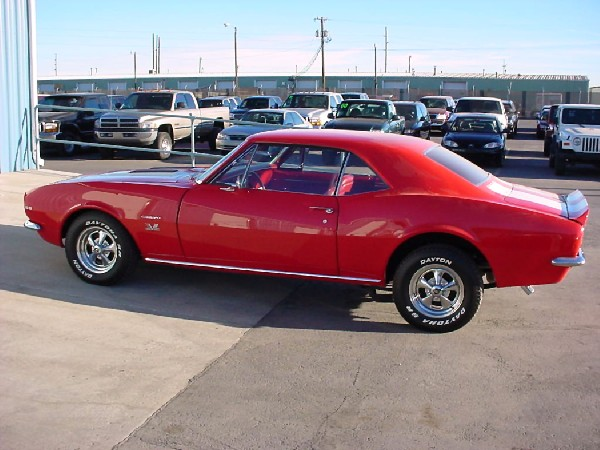 """1967 CHEVROLET CAMARO """"SS CLONE"""" COUPE - Front 3/4 - 19416"""