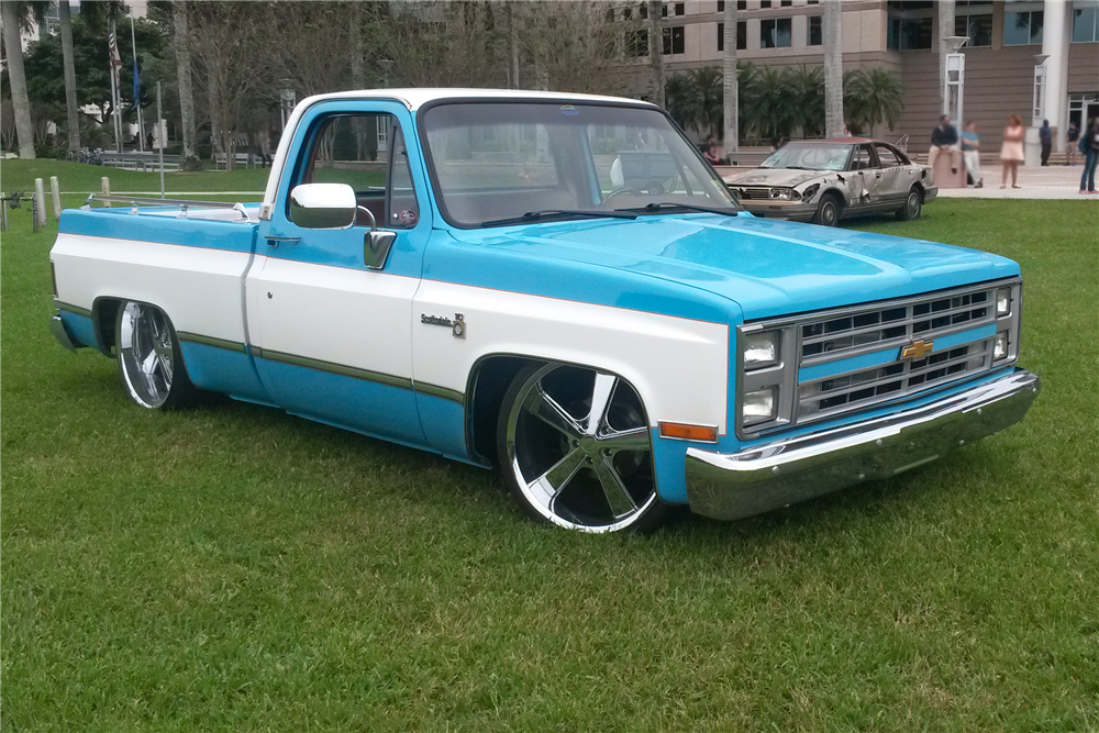 1980 CHEVROLET C-10 CUSTOM SHORTBED PICKUP - 194191