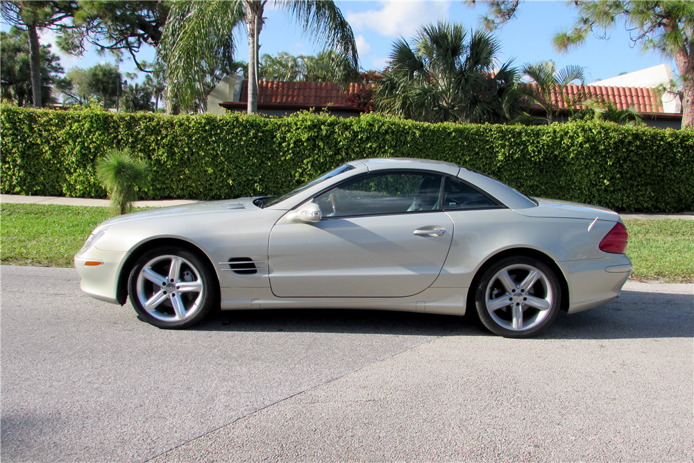 2003 mercedes benz sl500 convertible 194273 for Mercedes benz sl convertible