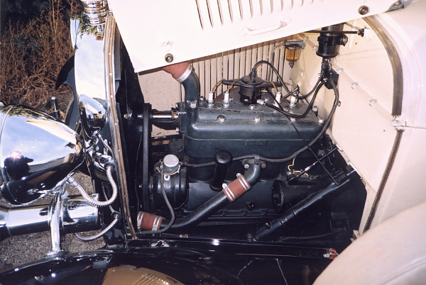 1929 FORD MODEL A PICKUP - Engine - 19429