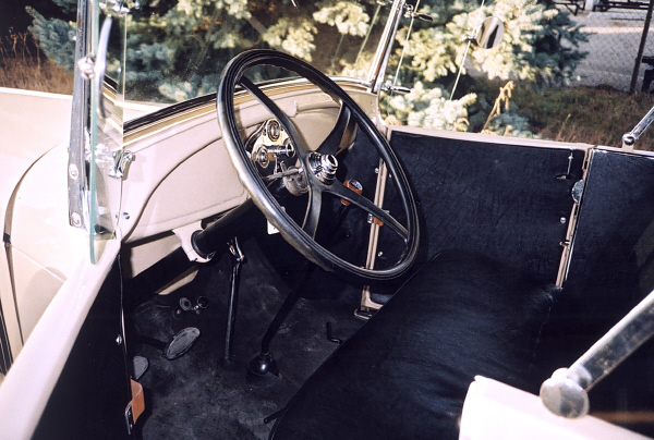 1929 FORD MODEL A PICKUP - Interior - 19429