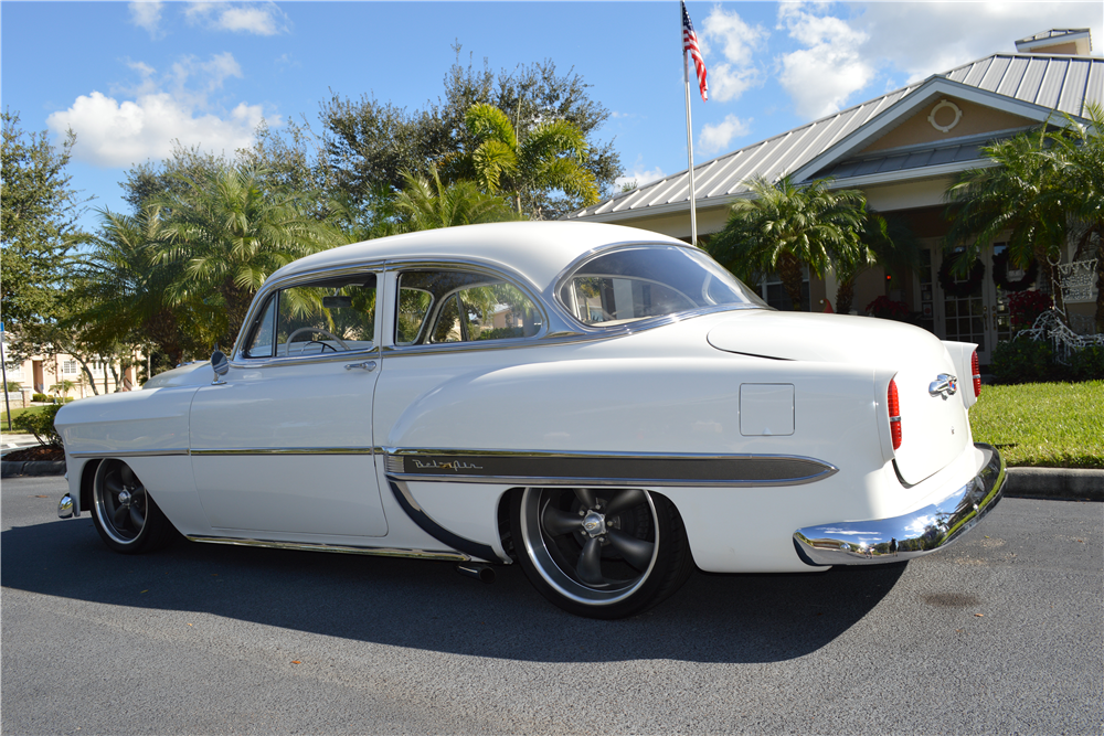 1953 chevrolet bel air custom 2 door hardtop 194294 for 1953 chevrolet belair 4 door