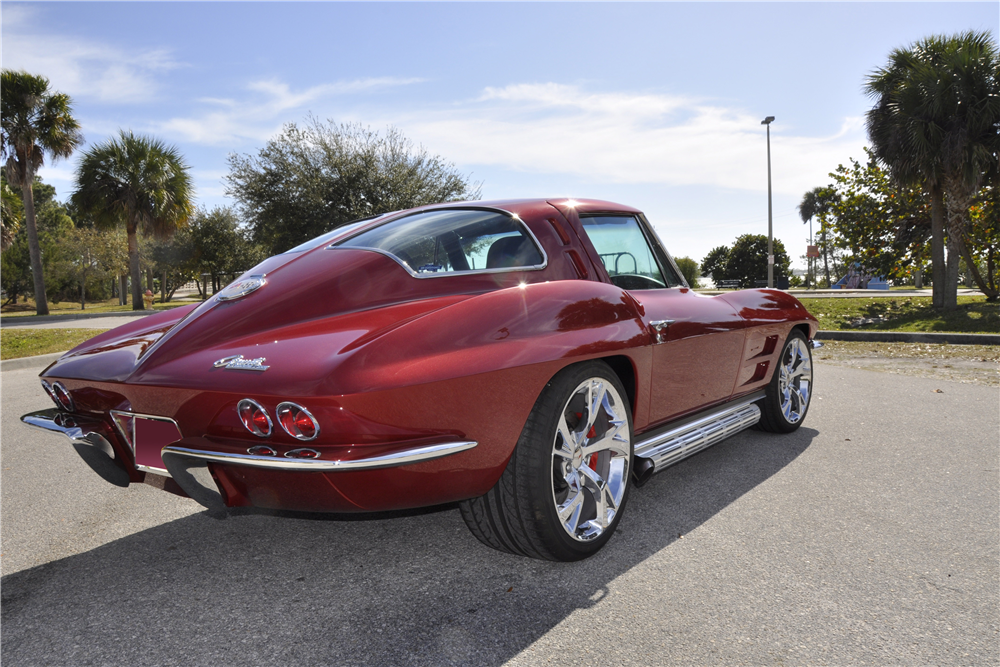 1963 chevrolet corvette custom split window coupe 194330 for 1963 split window coupe corvette
