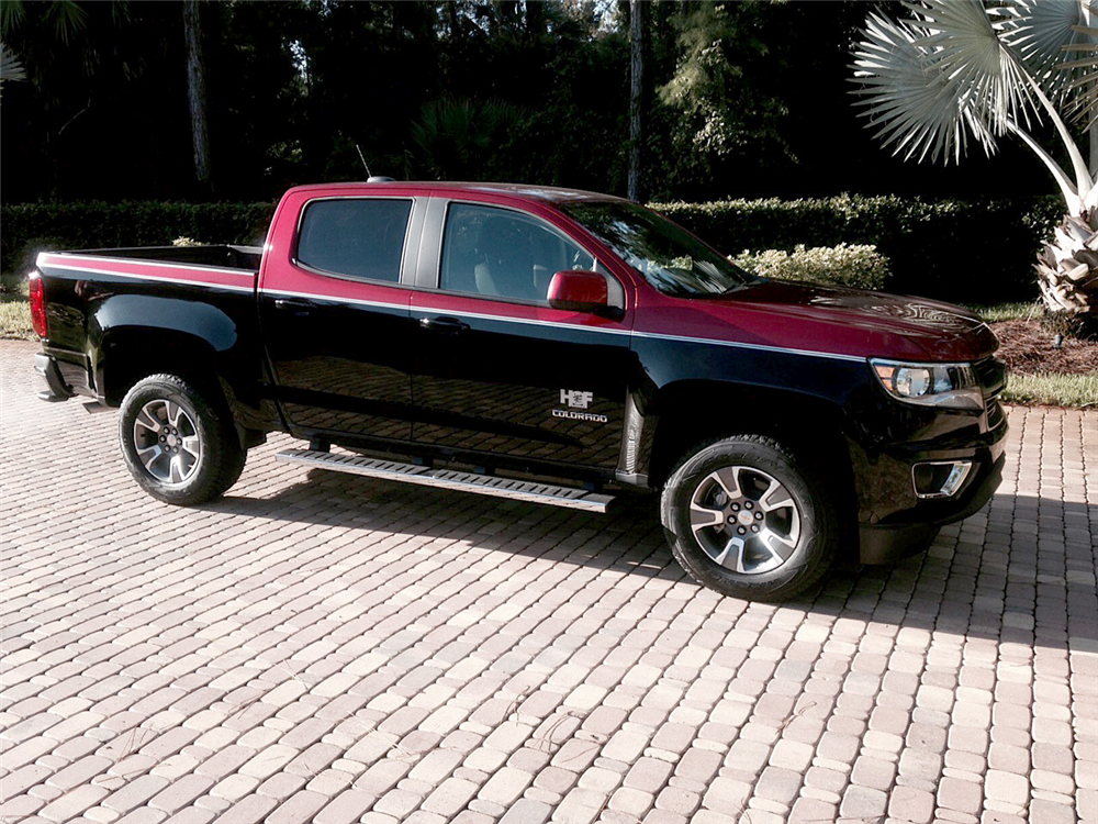 2015 chevrolet colorado dale earnhardt edition pickup side profile. Cars Review. Best American Auto & Cars Review