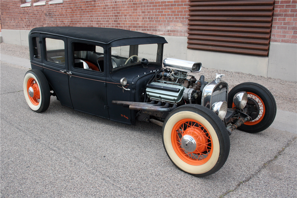 1930 FORD MODEL A RAT ROD194361