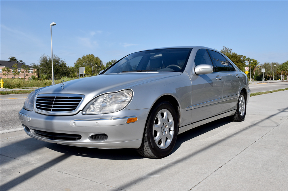 2002 mercedes benz s430 4 door sedan 194395