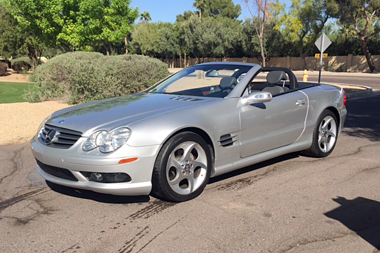 2004 mercedes benz sl500 convertible 194400 for Mercedes benz sl convertible