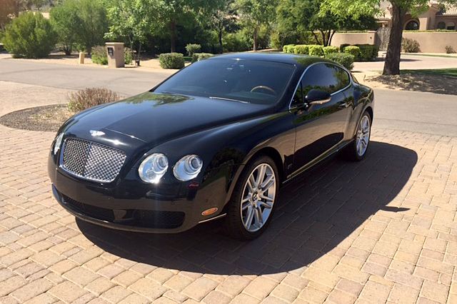 2007 bentley continental gt front 3 4 194401. Cars Review. Best American Auto & Cars Review