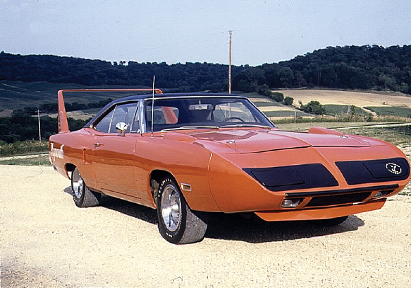 1970 PLYMOUTH SUPERBIRD 426 HEMI COUPE - Side Profile - 19441