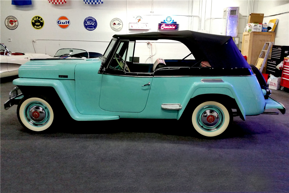 1948 WILLYS OVERLAND JEEPSTER - Side Profile - 194437