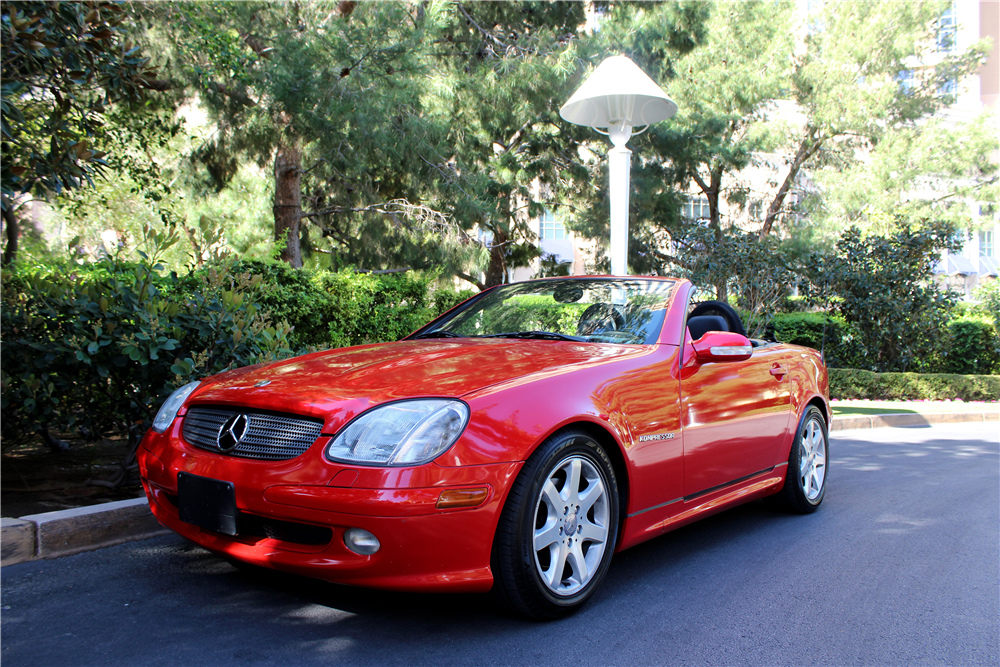 2001 mercedes benz slk230 194455 for Mercedes benz slk230 kompressor