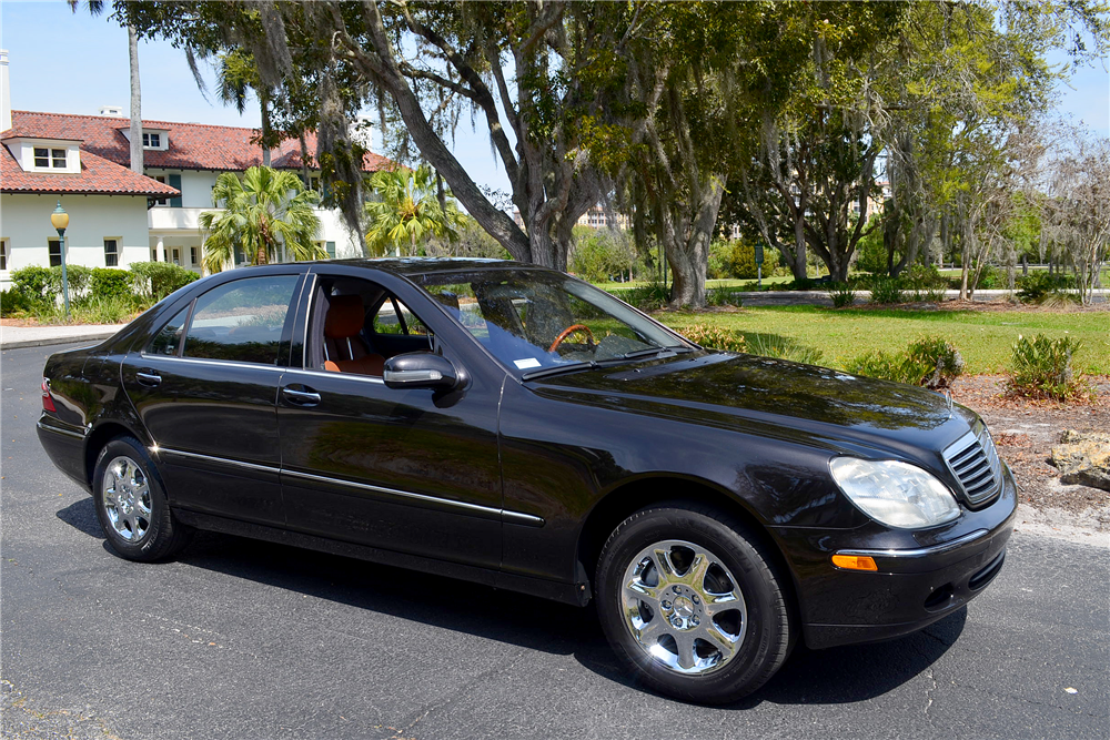 2001 mercedes benz s500 4 door sedan 194463